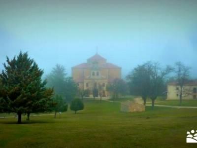 Enebral, Ermita Hornuez–Villa Maderuelo; mochila trekking; senderismo en madrid